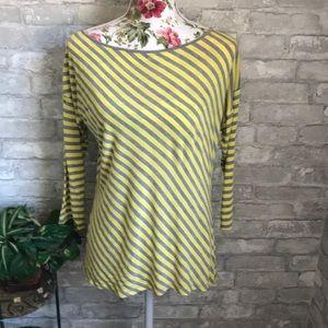 Yellow & Gray Shirt